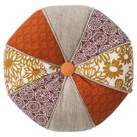 Threshold™ Round Patchwork Toss Pillow - 16x16""