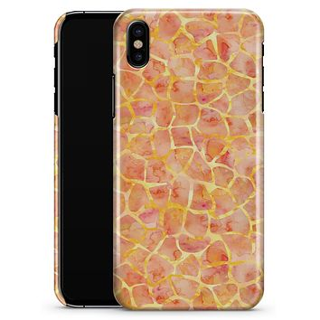 Watercolor Giraffe Pattern - iPhone X Clipit Case