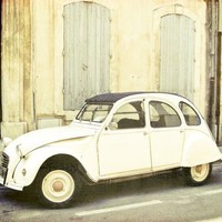 Le Citroen Fine Art Travel Photo retro vintage by honeytree