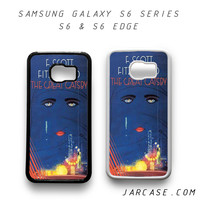 The Great Gatsby Book Art Phone case for samsung galaxy S6 & S6 EDGE