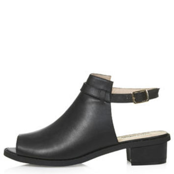 BARTON Mid-Heel Shoes - Black
