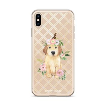 Glammed Up Sidekick Floral iPhone Case
