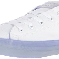 Converse Kids' Chuck Taylor All Star Translucent Color Midsole Low Top Sneaker