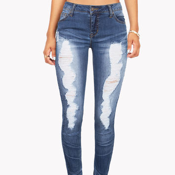 Stride Ripped Skinny Jeans