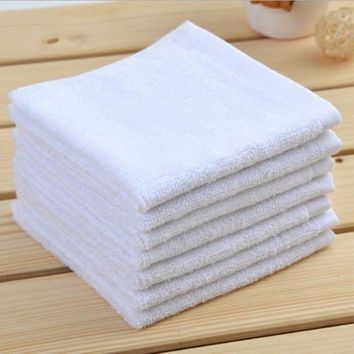 60 PC New 100% Cotton White Restaurant Bar Mops Kitchen Towels 28oz (5 DOZEN ) (60, White)