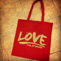 Free Love Cotton Canvas Tote Bag January Special Deal/Promo Valentine's Day Gift- Please Read Listing For Details