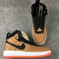 "Nike Lunar Force 1  ""Wood Color""Sneakers"