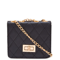 Lower Case Mini Clutch - Black