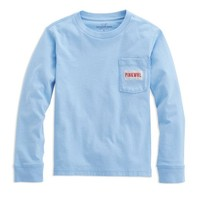 Boys Long-Sleeve Licensed To Whale Pocket T-Shirt