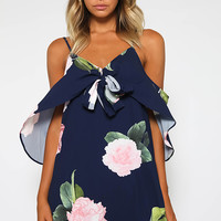 New Haven Dress - Navy Floral