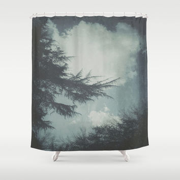 On Cool Days Shower Curtain by Ducky B