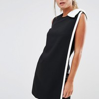 Ted Baker Elija Tunic Dress with Contrast Bow at asos.com