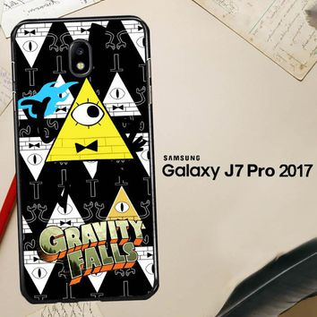 Gravity Falls Bill Cipher W3347 Samsung Galaxy J7 Pro SM J730 Case