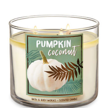 PUMPKIN COCONUT3-Wick Candle
