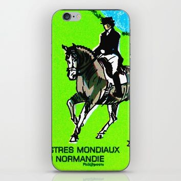 2014 FEI World Equestrian Games in Normandy DRESSAGE iPhone & iPod Skin by lanjee