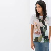 COMBINED PRINTED T-SHIRT