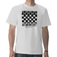 Chess Puzzle Tees from Zazzle.com