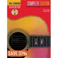 Hal Leonard Guitar Method, - Complete Edition: Books 1, 2 and 3 Bound Together in One Easy-to-Use…