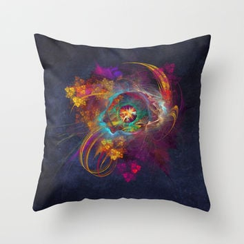Other Side Fractal Art Throw Pillow by Jbjart | Society6