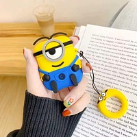 Minions AirPods Case Cover Bluetooth Wireless Earphone Protector
