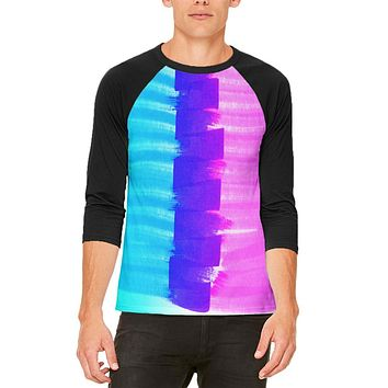 Color Me Transgender Mens Raglan T Shirt