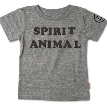 Spirit Animal T-Shirt - Heather Grey