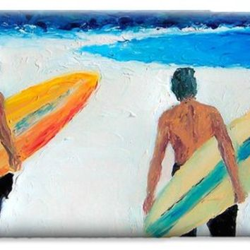 Two Surfers at Byron Bay iPhone 6 Case