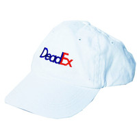 "White ""DeadEx"" Cap"