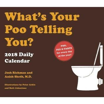 Whats Your Poo Desk Calendar, Mindbenders & Trivia by Chronicle Books