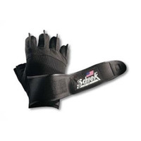 Platinum Gel Lifting Gloves w- Wrist Wraps 11in 12in (2X-Large)