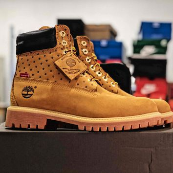 Supreme X Timberland Wheat Truck Boots - Best Online Sale