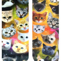 Living Royal | Living Royal - Galaxy Kitty Ankle Socks » West Of Camden