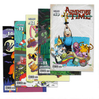 Adventure Time Paper Comic 5 Pack Set Issues 10-14 |