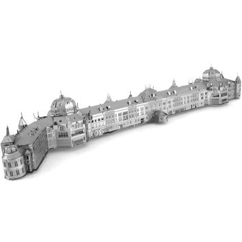 Tokyo railway station model laser cutting 3D puzzle DIY metal jigsaw model birthday gifts building toys