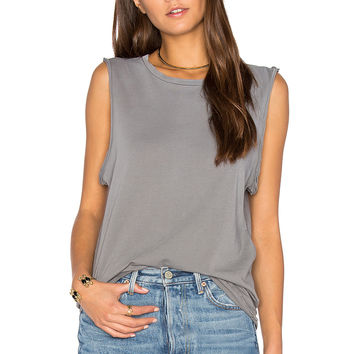Ragdoll Vintage Muscle Tank in Faded Grey