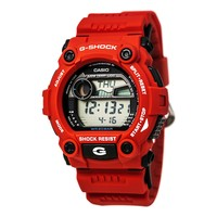 Casio G7900A-4 Men's G-Shock Rescue Red Digital Sport Watch