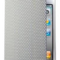 RevJams FlipBack Smart Case/Cover with Stand for iPhone 4/4S-White/Grey