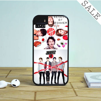 Red Cross 5sos For iPhone | Samsung Galaxy | HTC Case
