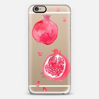 Pomegranate iPhone 6 case by Erin Ellis | Casetify