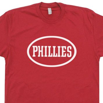 Philadelphia Phillies Vintage Shirts Philly Blunts Logo T Shirt Retro Phillies Graphic Tee
