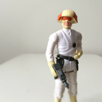 Star Wars Figure - Vintage 1980s Kenner Toy - Cloud Car Pilot with Blaster