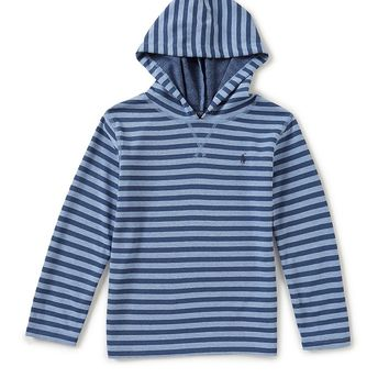 Ralph Lauren Childrenswear Little Boys 2T-7 Striped Long-Sleeve Hoodie | Dillards