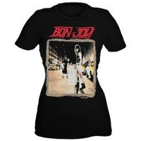 Bon Jovi Runaway Girls T-Shirt Plus Size 3XL