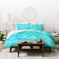 Rosie Brown Sparkling Sea Duvet Cover
