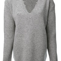 Vanessa Bruno distressed edge sweater