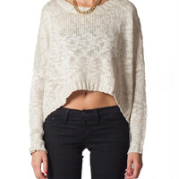 Knit Dolman Long Sleeve Sweater | 2020AVE