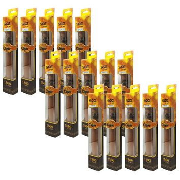 NEW FOR 2018: DISPOSABLE ELECTRONIC VAPE CIGAR, TOBACCO FLAVOR (Set of 15)