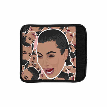 "Juan Paolo ""First World Problems"" Celebrity Funny Luggage Handle Wrap"