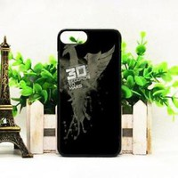 Top Famous 30 Second Mars Band Fit Hard Case For iPhone X 6 6s 7 8 Plus Cover +
