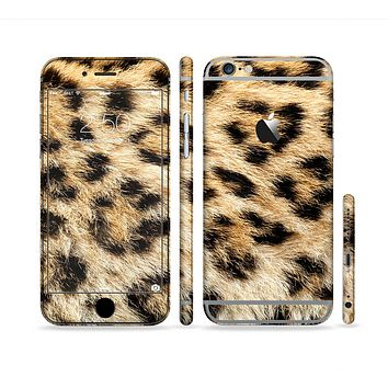 The Real Cheetah Animal Print Sectioned Skin Series for the Apple iPhone 6 Plus